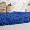 Super Soft Luxury Navy Shaggy Rug - Aspen