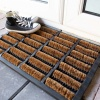 Roller Brush Coir Outdoor Entrance Doormat - Coir