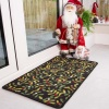 Green Holly Christmas Decoration Mat - Luna