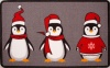 Cute Penguins Christmas Decoration Mat - Luna