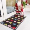Colourful Christmas Tree Decoration Mat - Luna