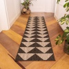 Grey Outdoor Runner Rug - Habitat
