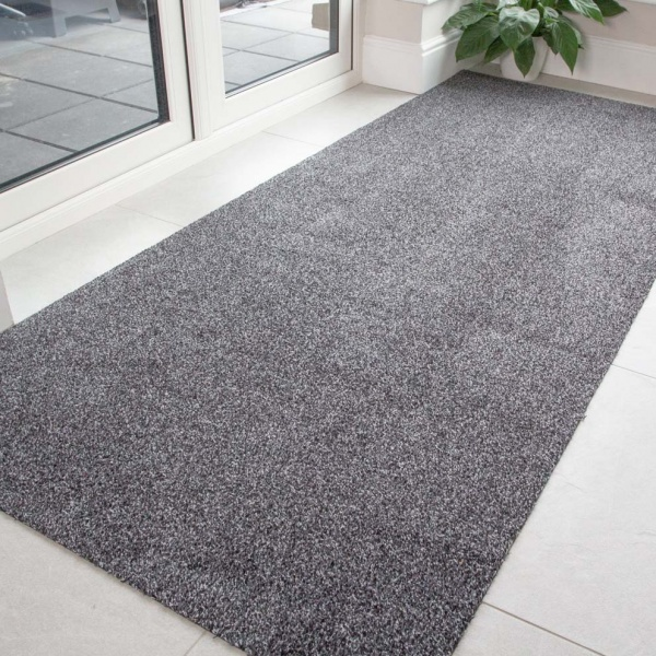 Grey Durable Eco-Friendly Washable Mats - Hunter - Cut to Measure