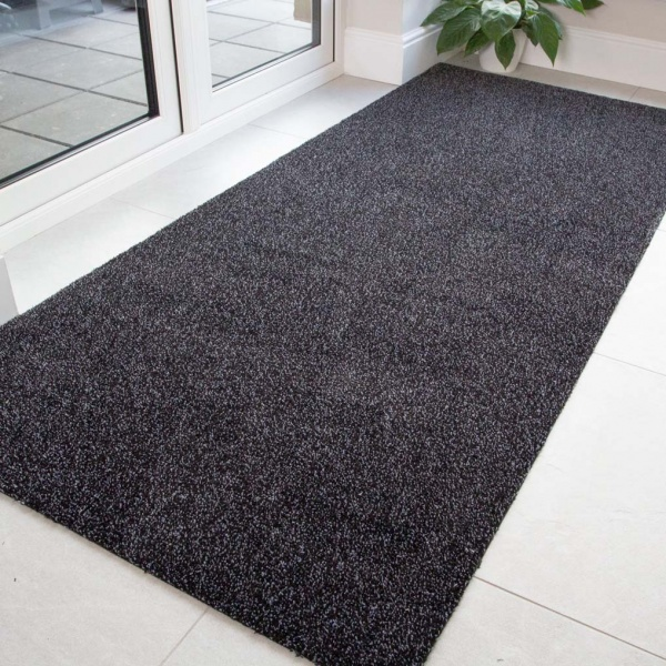 Black Durable Eco-Friendly Washable Mats - Hunter - Cut to Measure