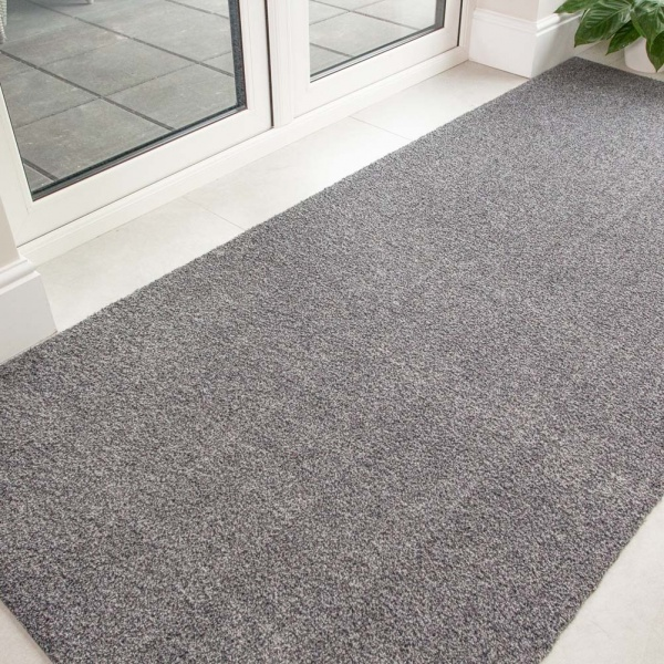 Silver Grey Durable Eco-Friendly Washable Mats - Hunter - Cut to Measure